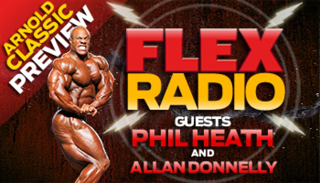 FLEX RADIO: Arnold Classic Preview with The Gift