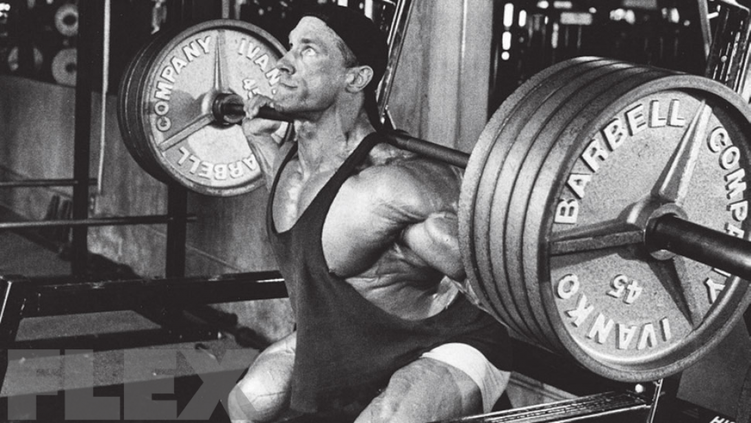 Advanced Bodybuilding: Heavy Squats for Big Arms