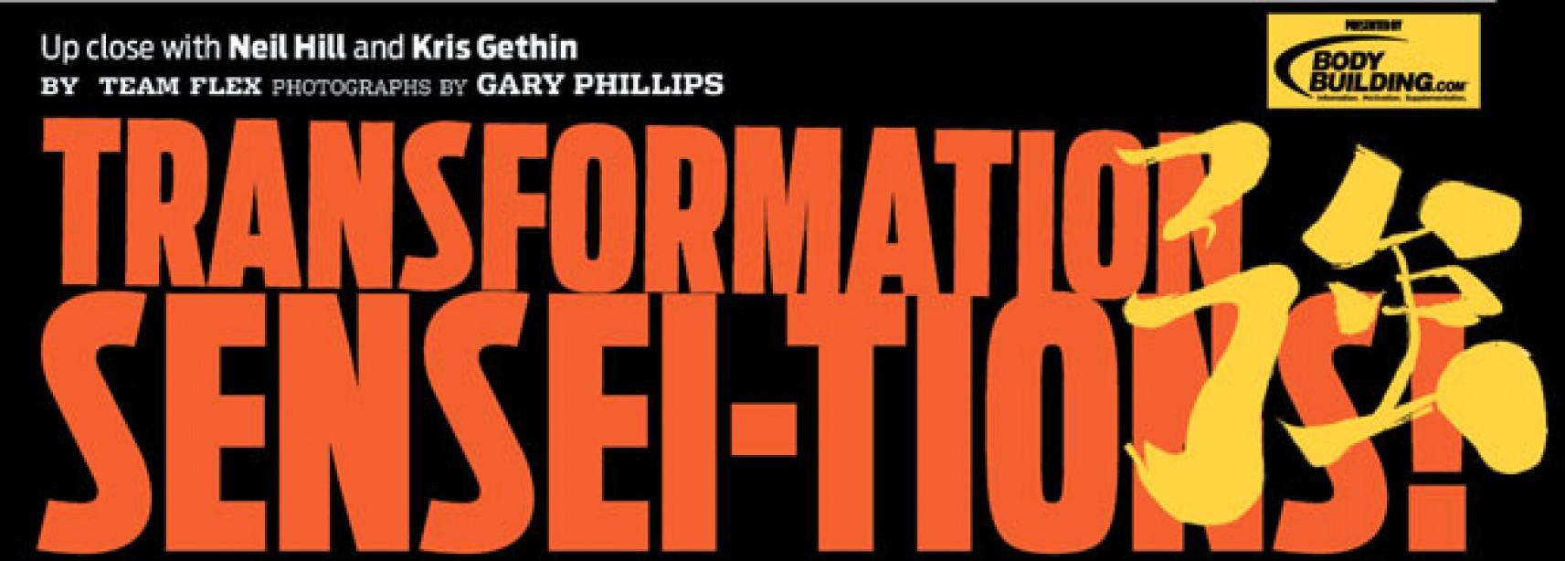 Hill and Gethin Transformation Sensations