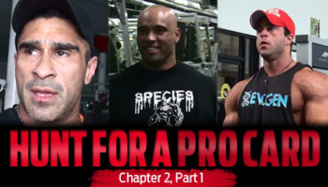 HUNT FOR A PRO CARD: Chapter 2 - Part 1
