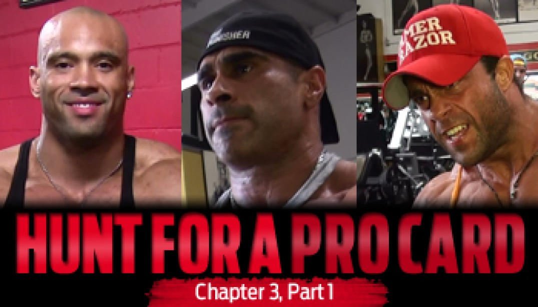 HUNT FOR A PRO CARD: Chapter 3 - Part 1