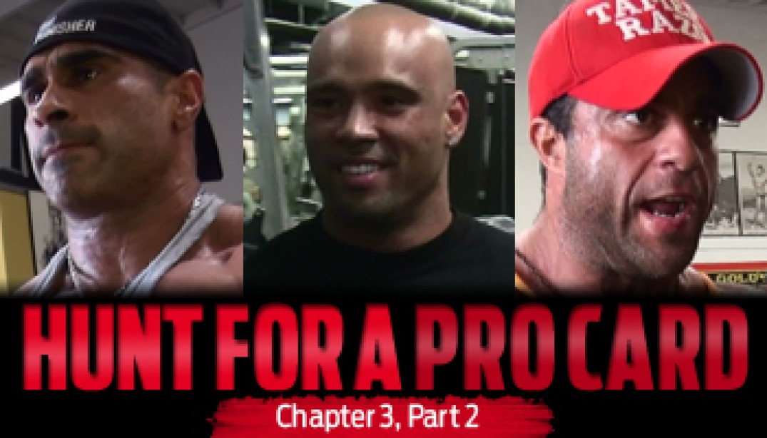 HUNT FOR A PRO CARD: Chapter 3 - Part 2