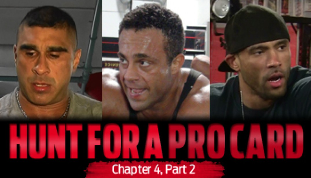 HUNT FOR A PRO CARD: Chapter 4 - Part 2