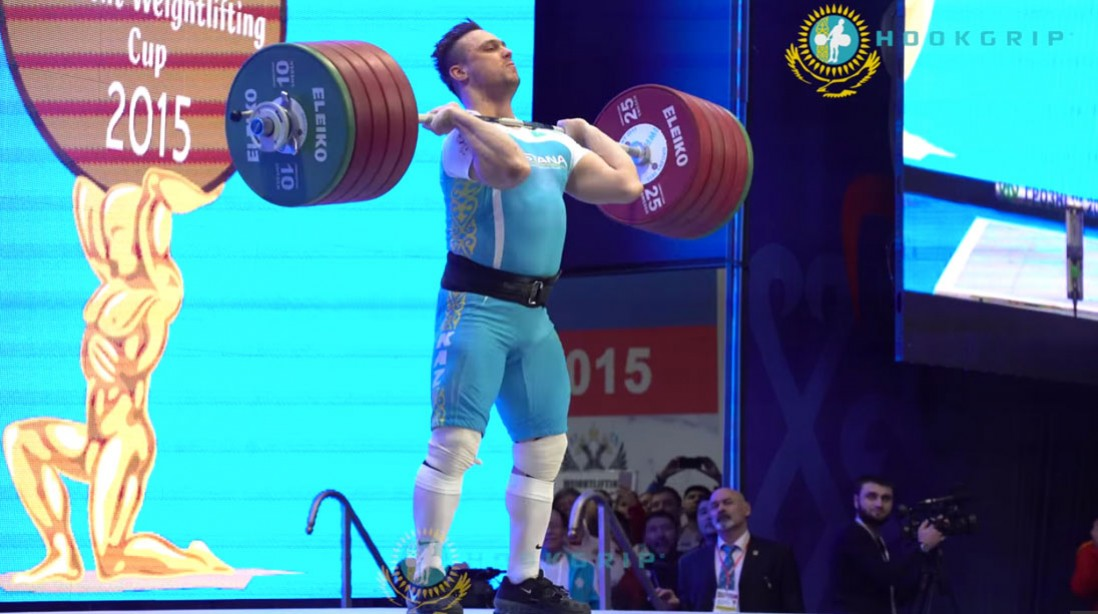 King of Cleans: Kazakh Lifter Sets 2 World Records
