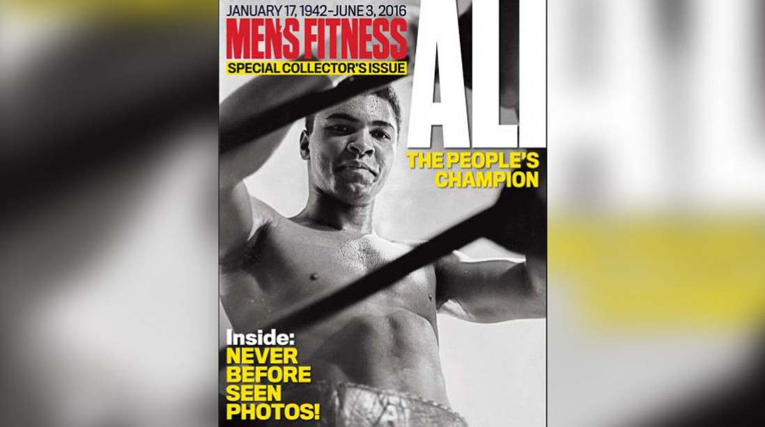 Get the Men's Fitness Special Collector's Issue of Muhammad Ali: The People's Champion