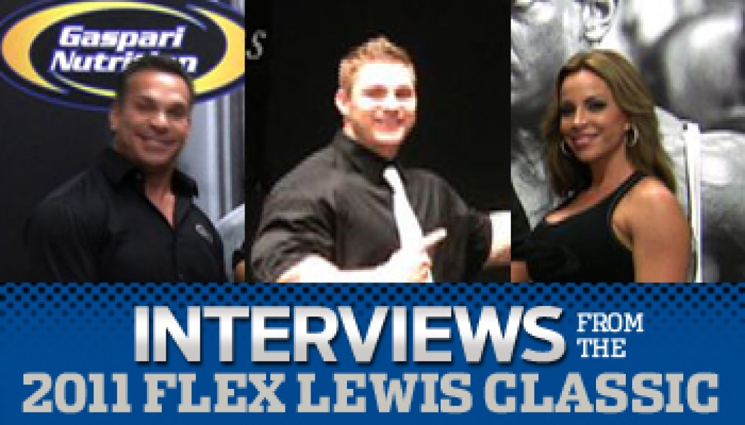 Interviews from the Flex Lewis Classic!