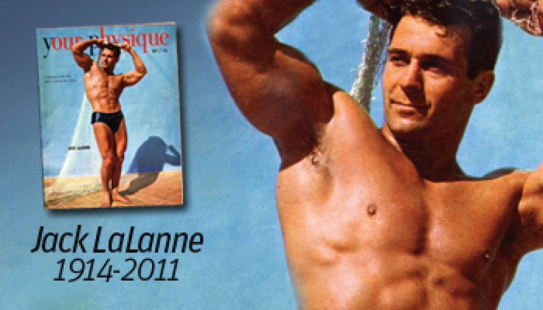 JACK LALANNE PASSES AWAY