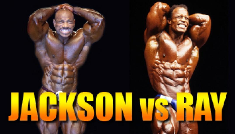 OLYMPIA CLASH OF THE TITANS: JACKSON VS RAY