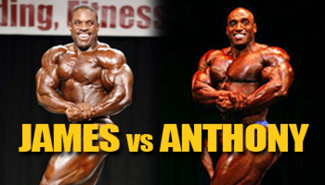 OLYMPIA DREAM MATCHUP: JAMES VS ANTHONY