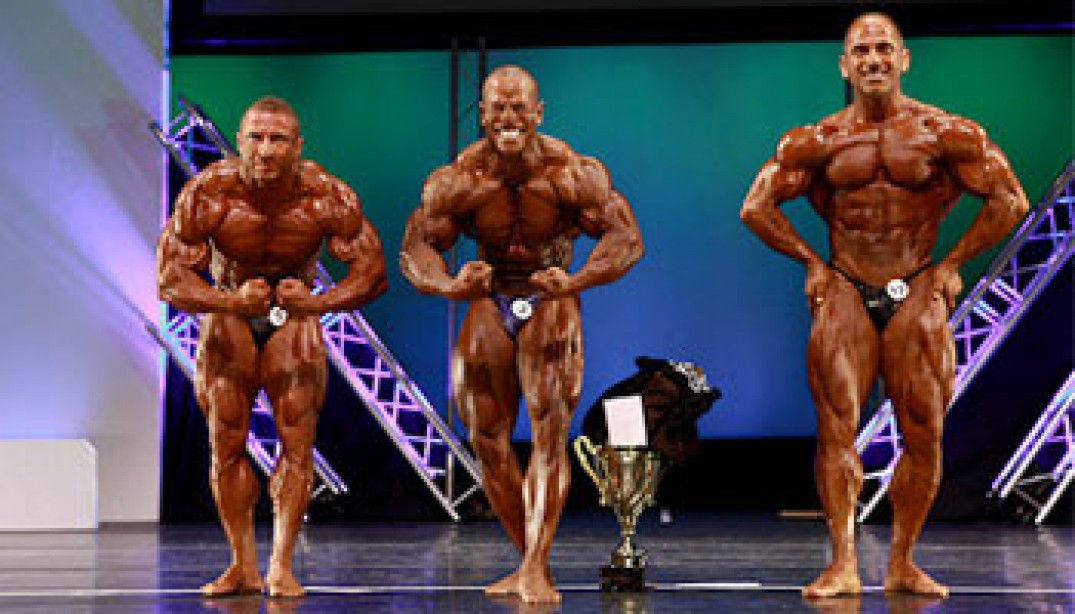 2010 IFBB JACKSONVILLE PRO RESULTS