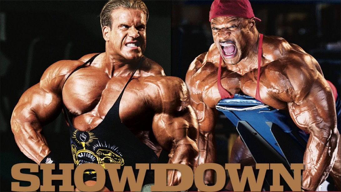 ronnie coleman vs jay cutler muscle fitness