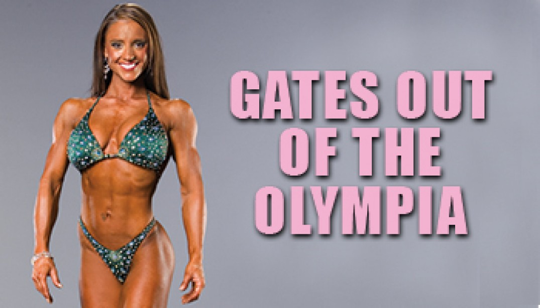 GATES OUT OF THE OLYMPIA