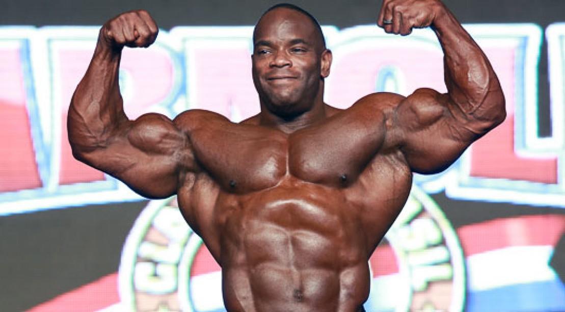 Johnnie Jackson Posing Routine at 2013 Arnold Brazil