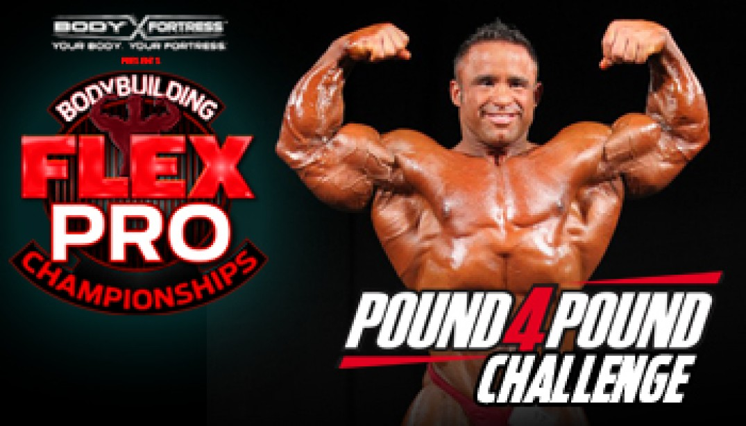 JOSE RAYMOND ENTERS the POUND-4-POUND CHALLENGE!