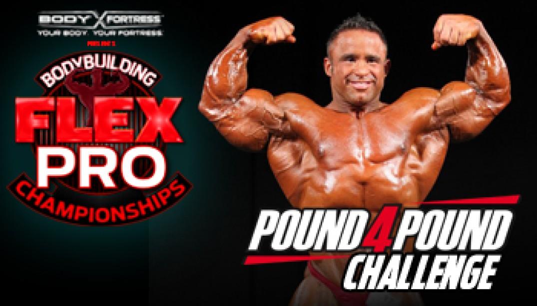 JOSE RAYMOND ENTERS the POUND-4-POUND CHALLENGE!