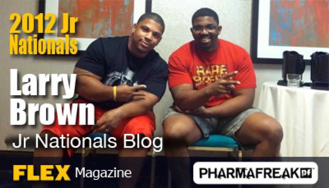 Larry Brown Jr National Blog - Observations