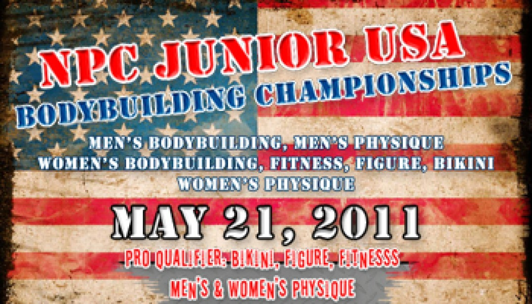 2011 NPC Jr. USA Bodybuilding Championships!