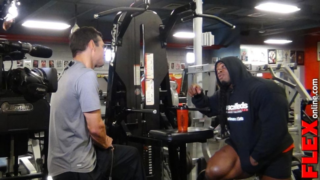 Kai Greene Interview to Appear on FOX SPORTS
