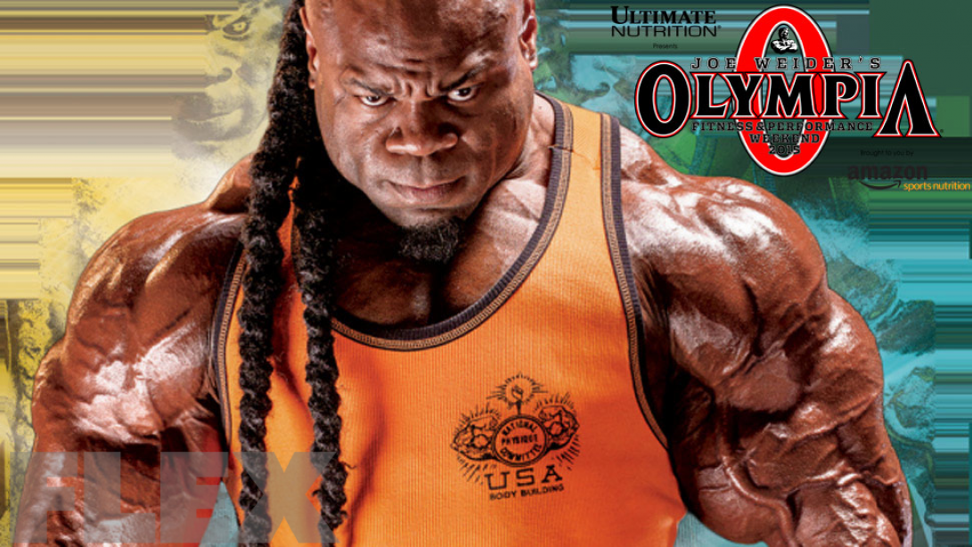 Kai Greene Out of Olympia!