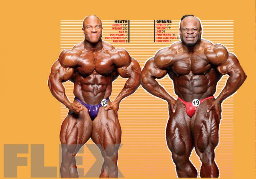 Virtual Posedown: Phil Heath vs. Kai Greene