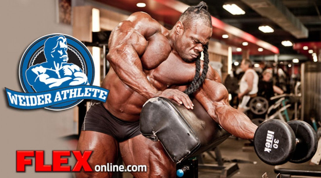 Kai Greene Renews AMI/Weider Contract