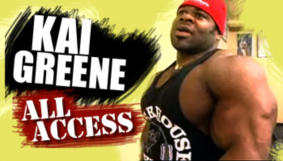 VIDEO: KAI GREENE ALL ACCESS