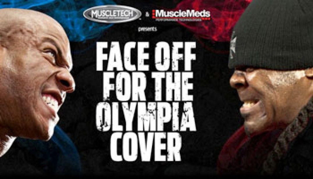 KAI vs. PHIL: FACE OFF FOR THE OLYMPIA COVER