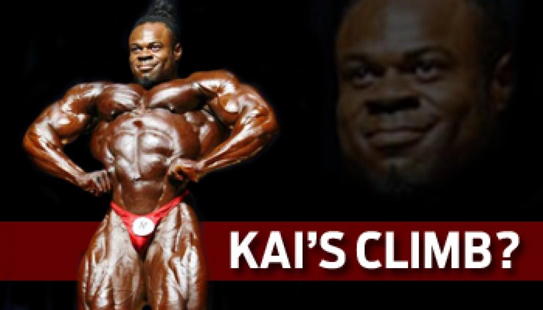 2009 OLYMPIA: KAI'S CLIMB?