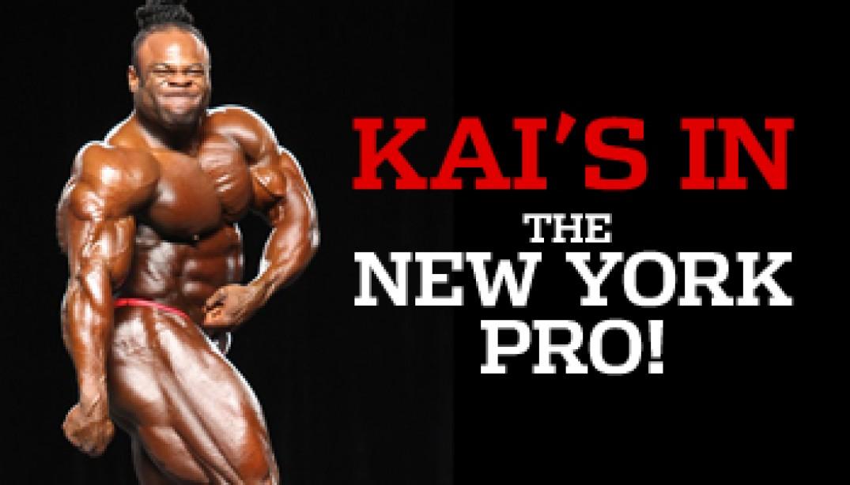KAI COMES BACK TO NY!