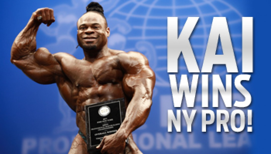 2011 IFBB NEW YORK PRO FINAL RESULTS