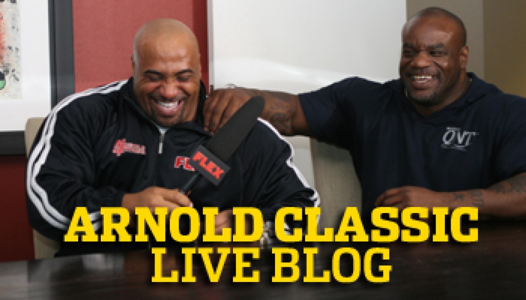 2010 ARNOLD CLASSIC PREJUDGING PLAY-BY-PLAY!