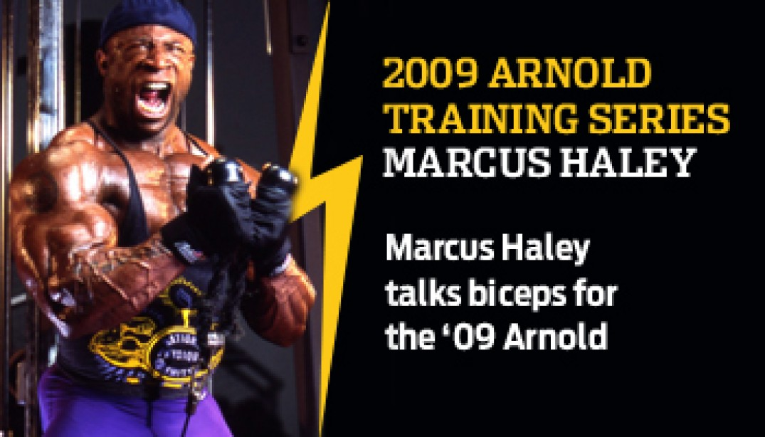 2009 ARNOLD CLASSIC TRAINING SERIES: MARCUS HALEY