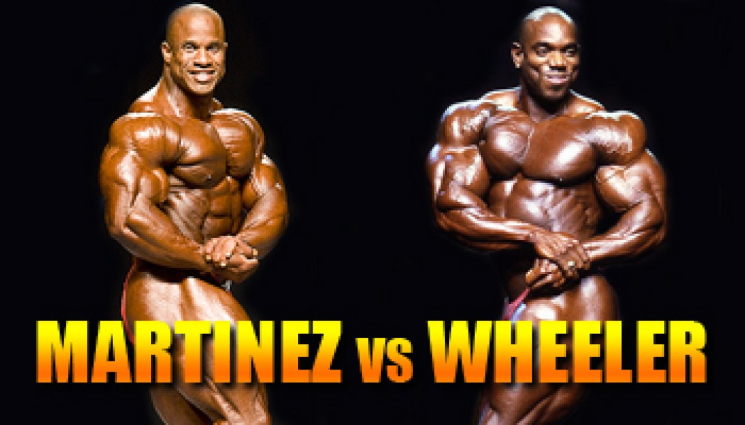 OLYMPIA CLASH OF THE TITANS: MARTINEZ VS WHEELER