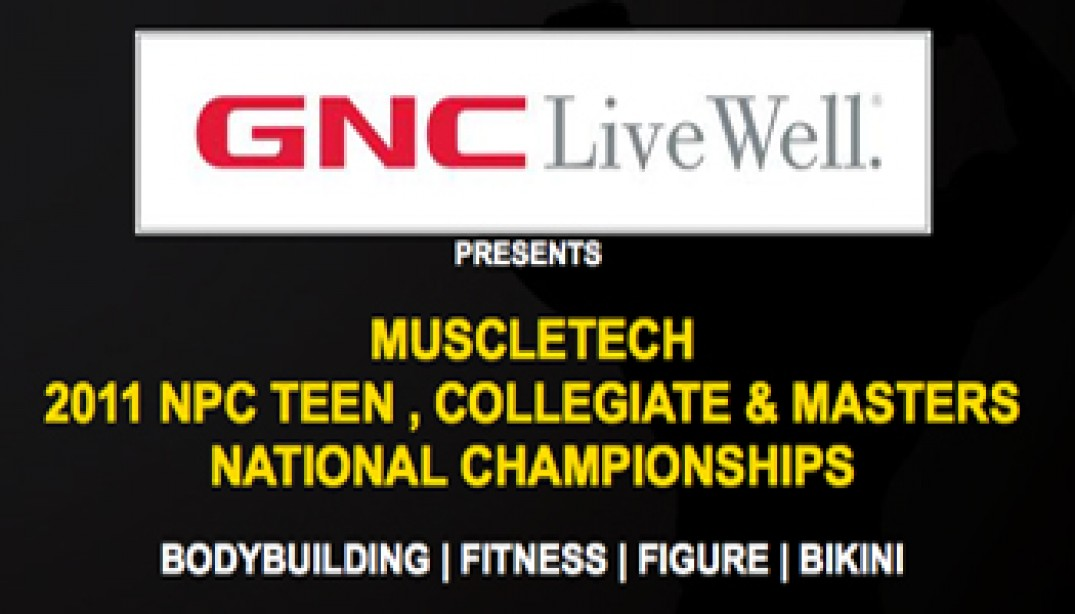 2011 NPC TEEN, COLLEGIATE & MASTERS NATIONAL CHAMPIONSHIPS