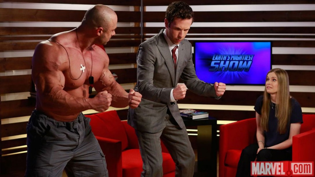 Frank McGrath on Marvel's Earth's Mightiest Show