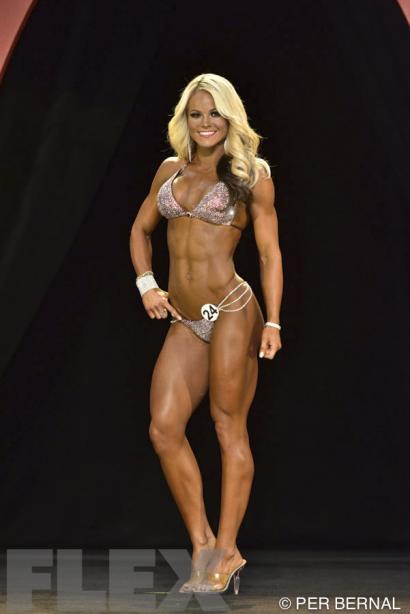 a95d62e05538e Justine Munro - Bikini - 2015 Olympia | Muscle & Fitness