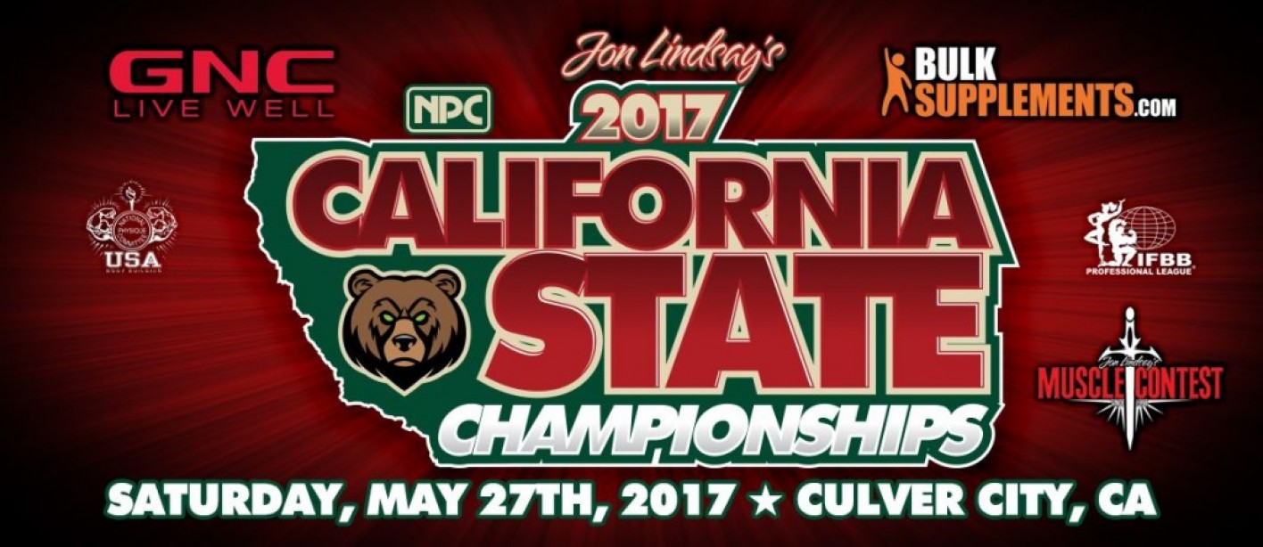 2017 IFBB California State Championships Official Scorecard