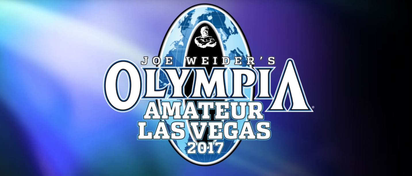 Official Launch of the 2017 Amateur Olympia in Las Vegas