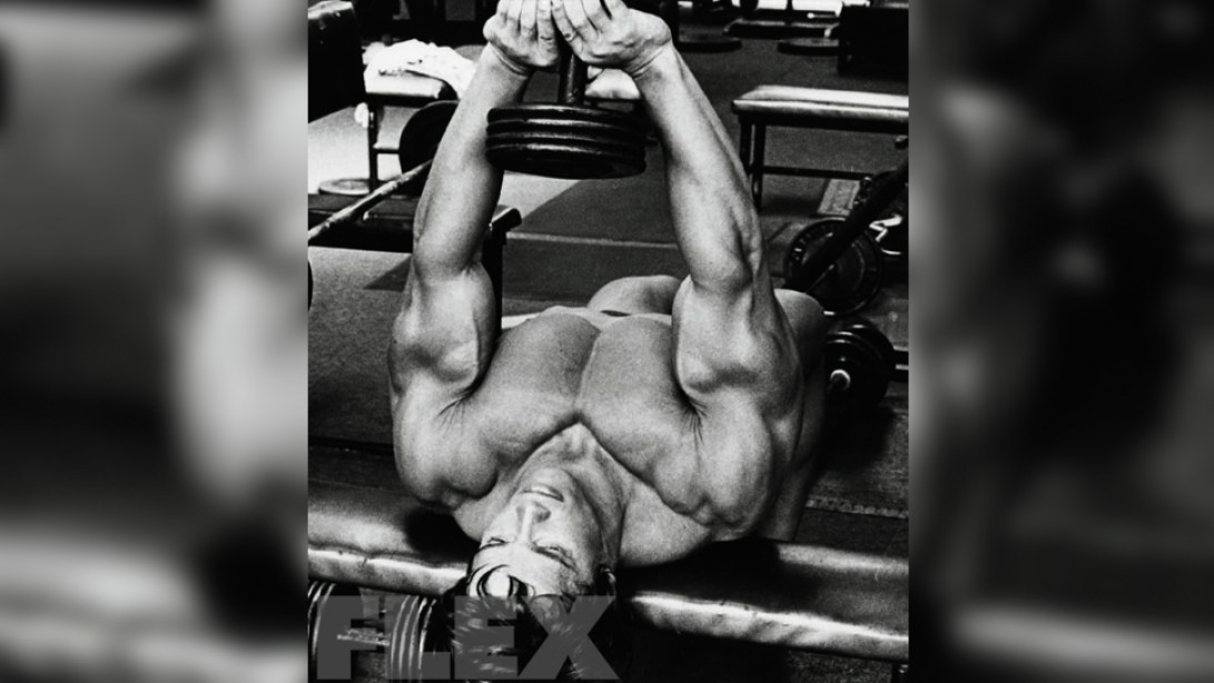 Arnold Schwarzenegger Pectoral Pointers Muscle Fitness