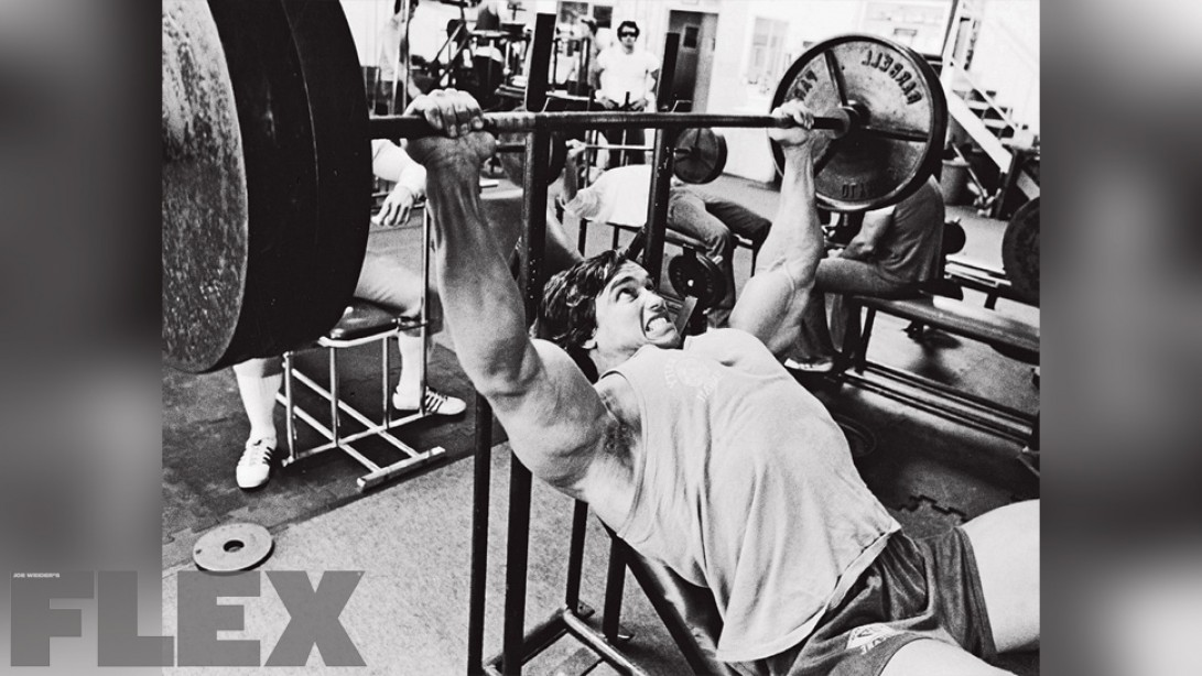 Arnold Schwarzenegger Pound For Pound Muscle Fitness