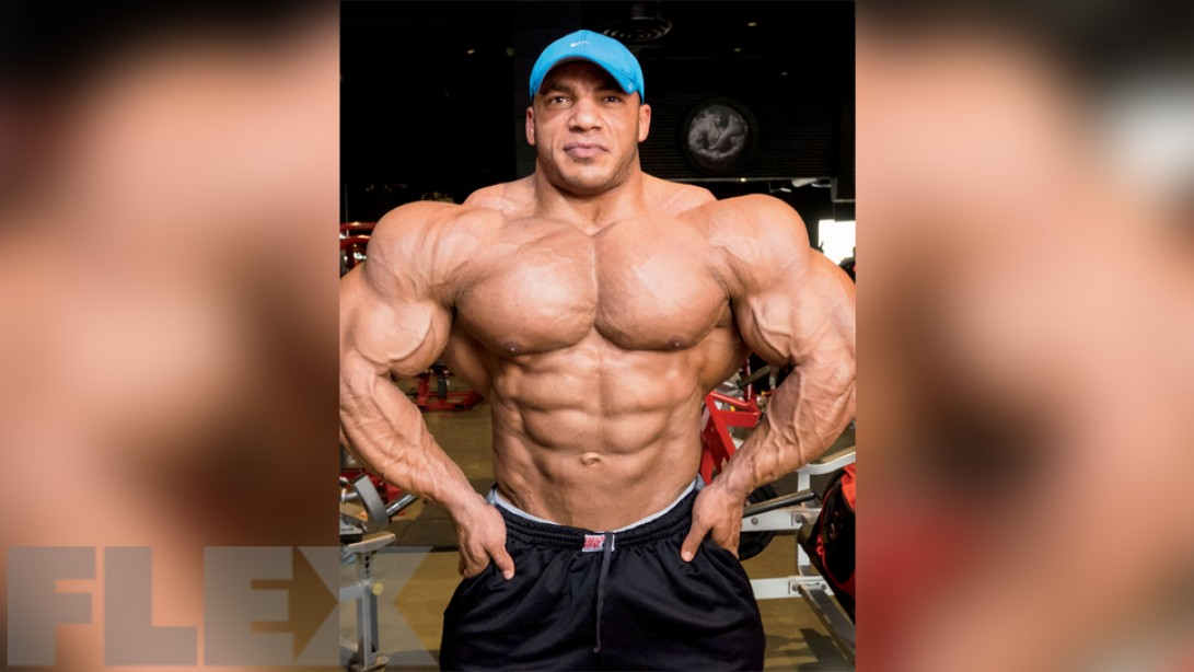 Big Ramy's Chest Test