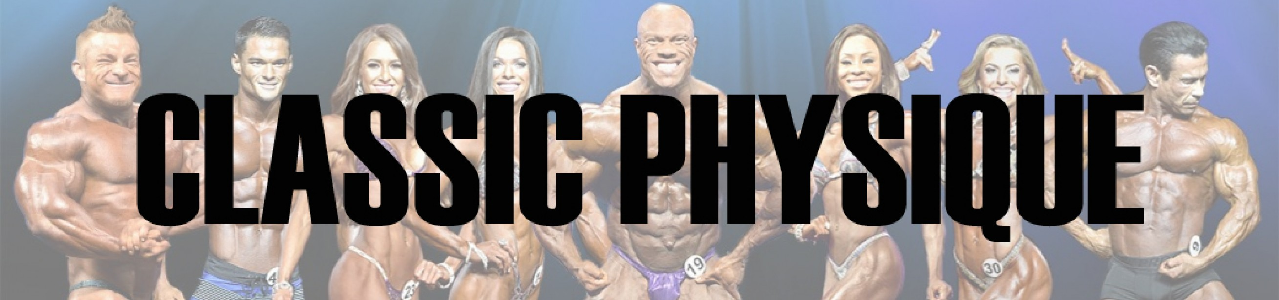 2017 Olympia Classic Physique Call Out Report