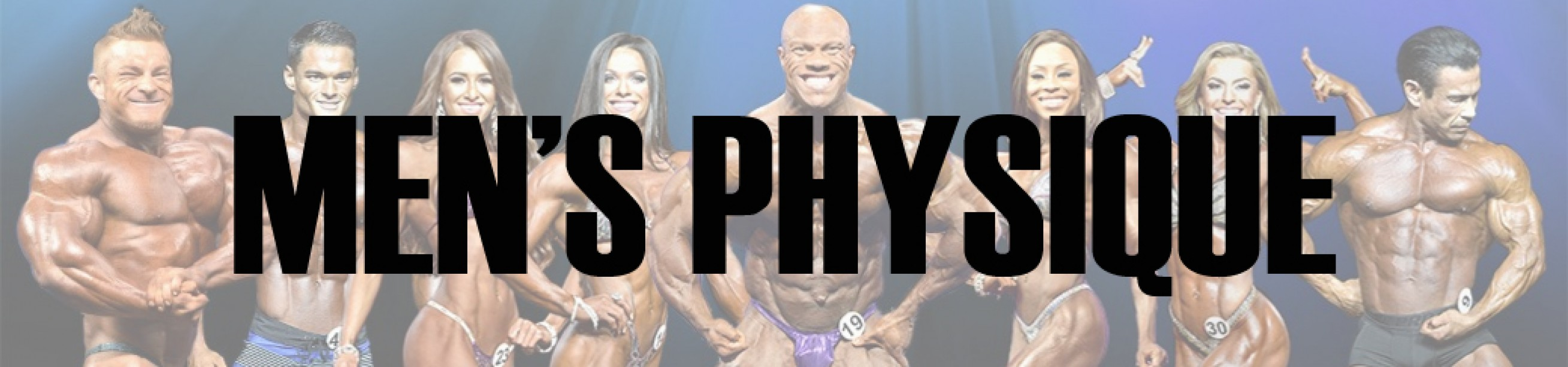 2017 IFBB Pittsburgh Pro Men's Physique Call Out Report