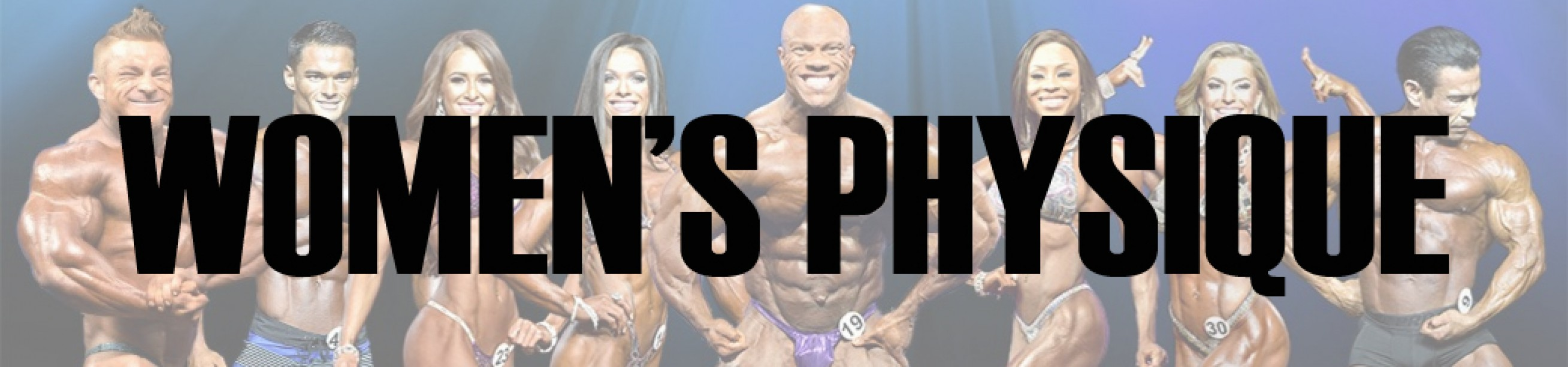 2017 Olympia Women's Physique Call Out Report