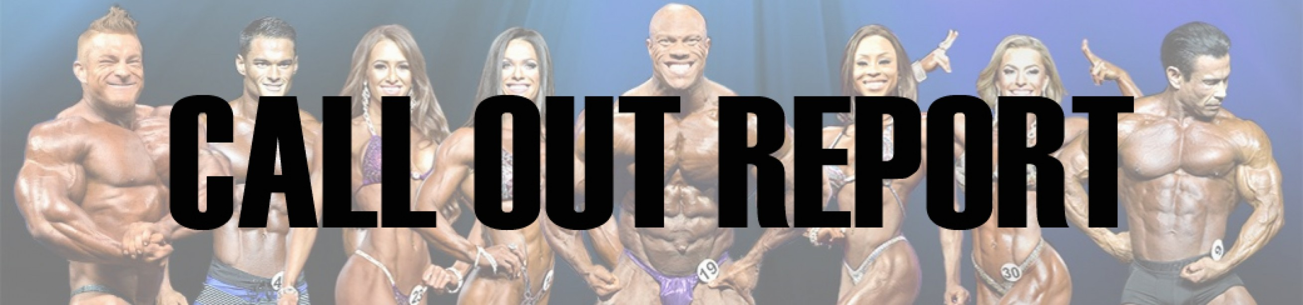 2017 Olympia Pre-Judging Call Out Report