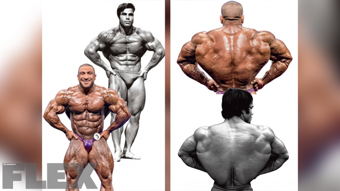 Virtual Posedown: Ashkanani vs. Columbu