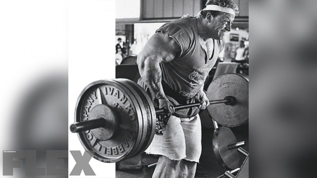 Dorian Yates' 6 Rules for Building a Big Back Fast