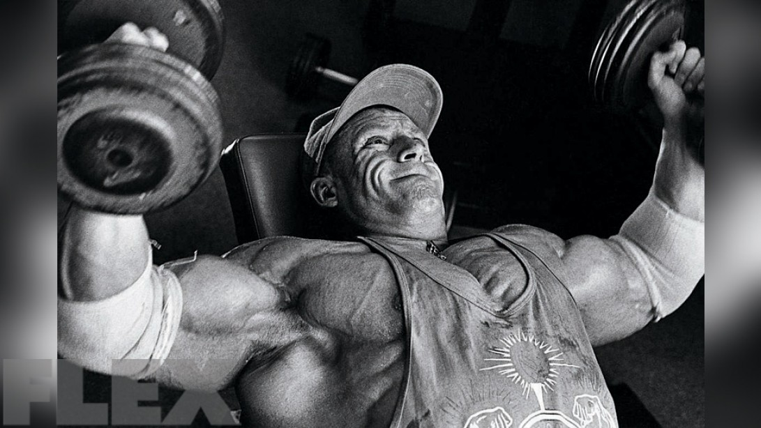 Dorian Yates' Expert Advice on Training Frequency