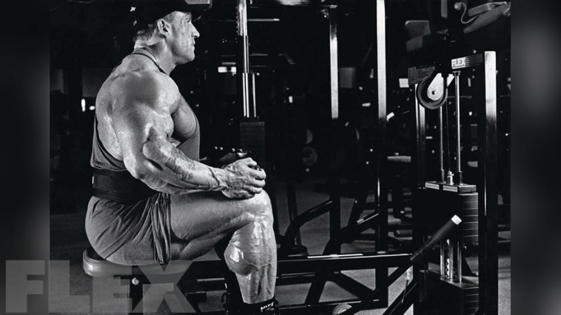 Dorian Yates' Calf Workout