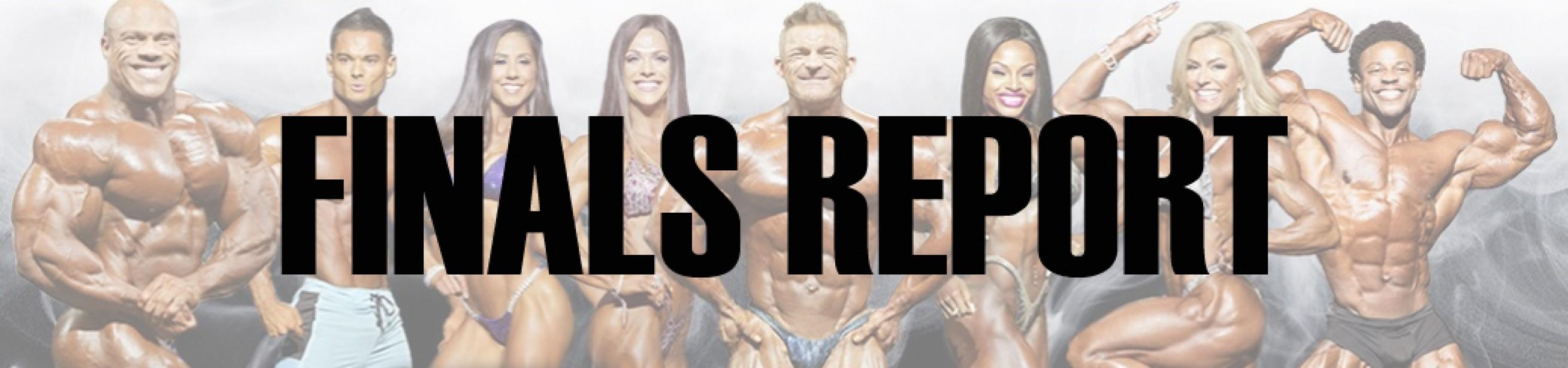 2018 Arnold Classic Finals Report